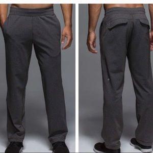 Lululemon Kung Fu Men's Pants Sz S Heather Gray